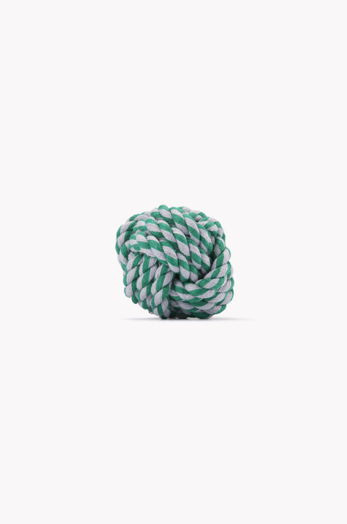[MUNGO AND MAUD] Forget me knot rope dog toy