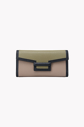 Leslie combi long wallet